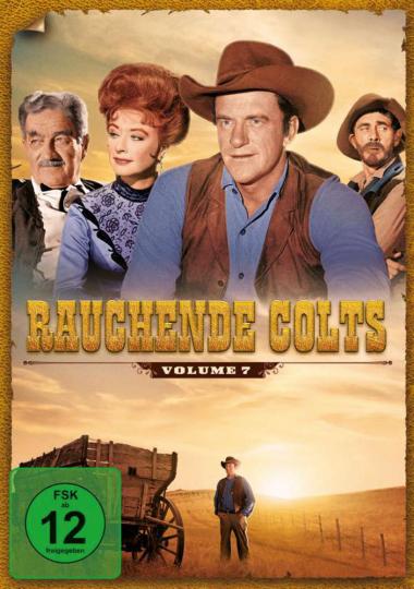 Rauchende Colts Volume 7. 7 DVDs.