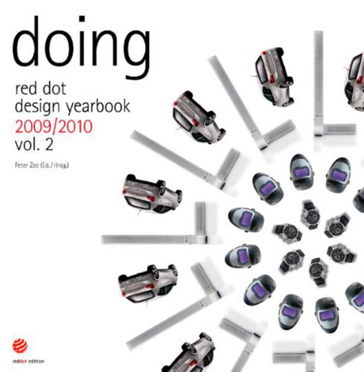 Red dot design yearbook 2009/2010. Doing.