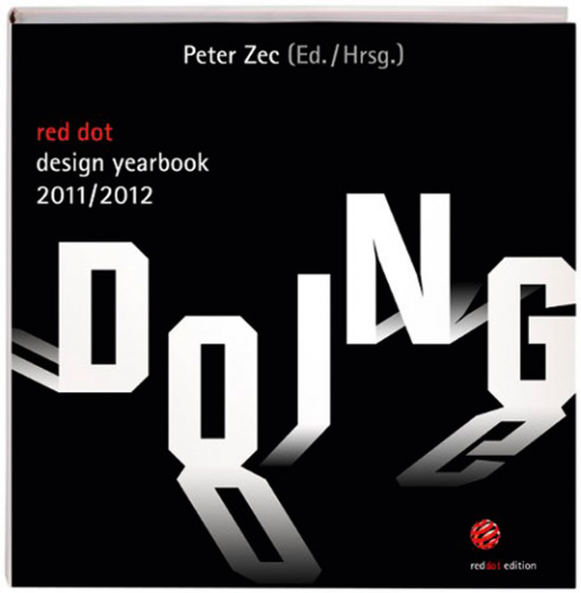 Red dot design yearbook 2011/2012. Doing.