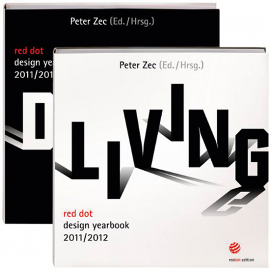 Red dot design yearbook 2011/2012. Living & Doing. 2 Bände.
