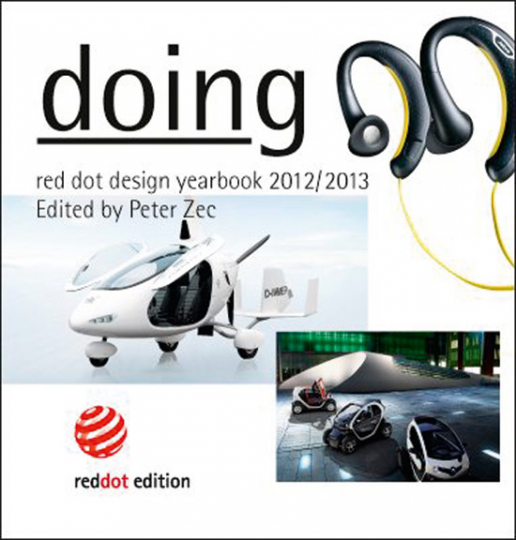 Red dot design yearbook 2012/2013. Doing.