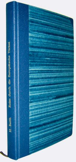 Reise durch das Innere der europäischen Türkei - Limitiert auf 300 Exemplare und nummeriert!