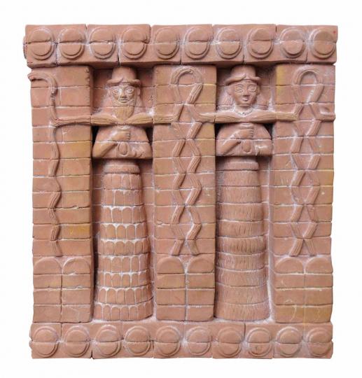 Relief »Inanna-Fassade aus Uruk«.