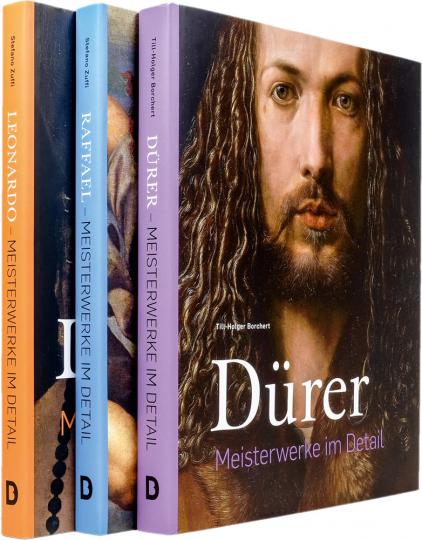 Renaissance-Meister im Detail, Set. Leonardo, Dürer, Raffael. 3 Bände.