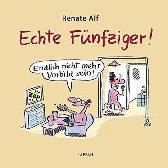 Renate Alf. Echte Fünfziger. Cartoons.