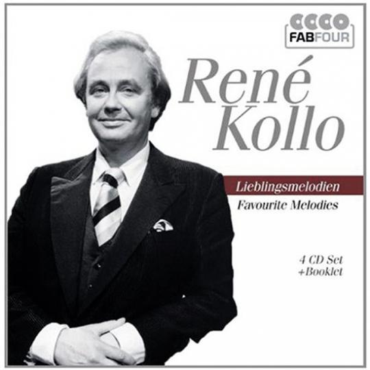 René Kollo. Lieblingsmelodien. 4 CDs.