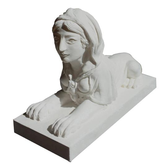 Replik »Sphinx aus dem Schlosspark Schwetzingen«.