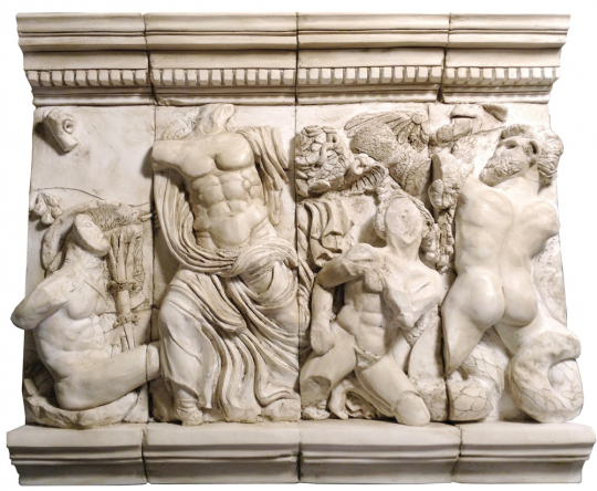Replik »Zeusgruppe«.