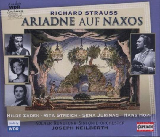 Richard Strauss. Ariadne auf Naxos. 2 CDs.