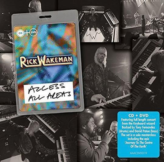 Rick Wakeman. Access All Areas. CD + DVD.
