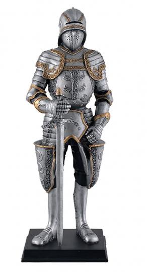 Ritter mit Schallerhelm