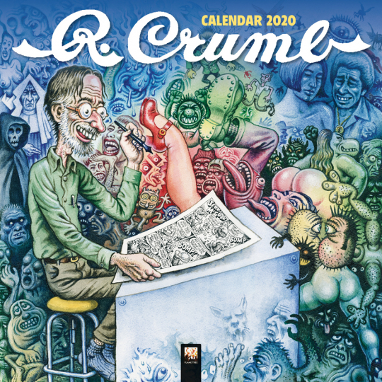 Robert Crumb Kalender 2020.