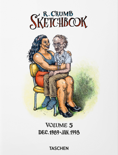 Robert Crumb. Sketchbook, Band 5: 1989-1998.