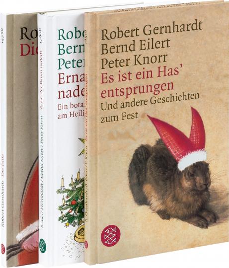 Robert Gernhardt Weihnachts-Buchset. 3 Bände im Paket.