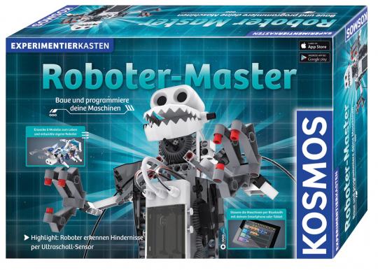 Roboter-Master. Experimentierkasten.