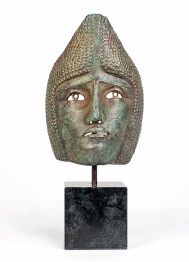 Römische Parademaske. Deutschland, um 230 v. Chr.