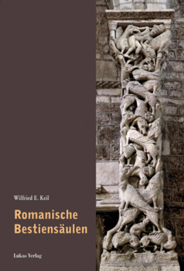 Romanische Bestiensäulen.