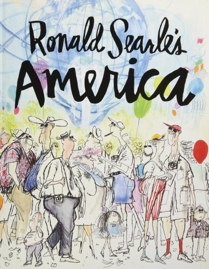 Ronald Searle's America.