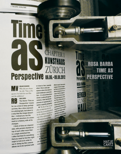Rosa Barba. Time as Perspective.