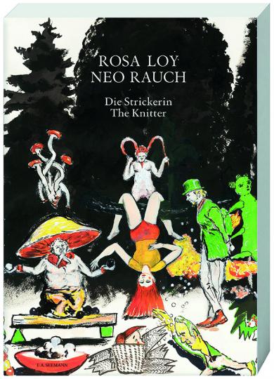 Rosa Loy und Neo Rauch. Die Strickerin. The Knitter.