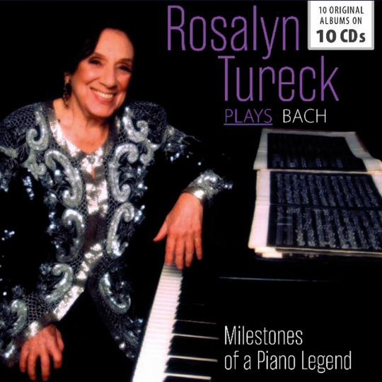 Rosalyn Tureck. Plays Bach. Milestones of a Piano Legend. 10 CDs.