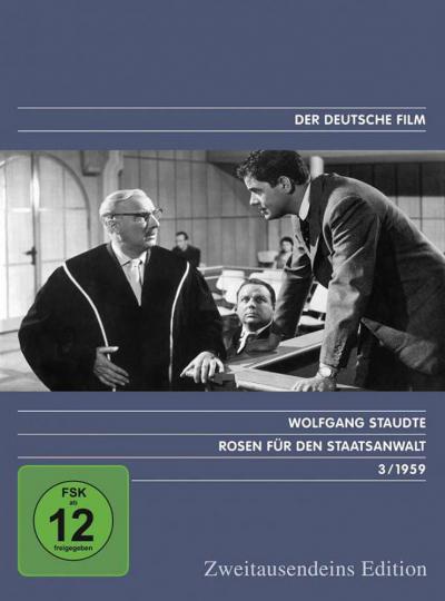 Rosen für den Staatsanwalt. DVD.