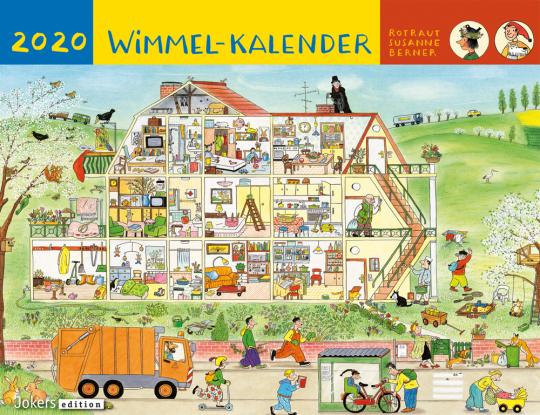 Rotraut Susanne Berner. Wimmel-Kalender 2020.