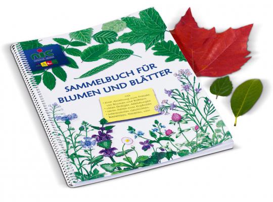 Sammelbuch für Blumen und Blätter.