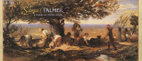 Samuel Palmer. Panorama-Grußkarten-Set.