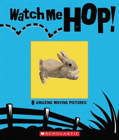 Schau, wie ich hüpfen kann! Watch me hop! 8 bewegte Bilder.