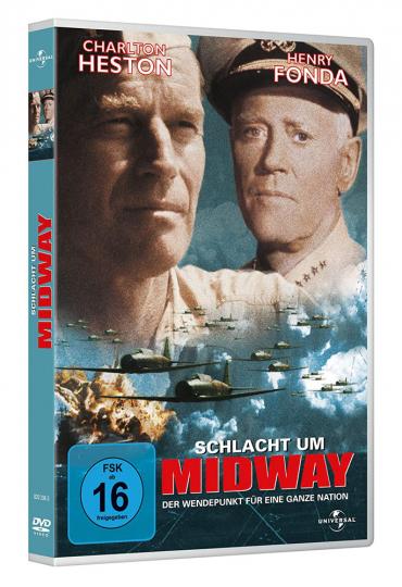 Schlacht um Midway. DVD.