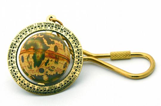 Schlüsselanhänger »Globus«.