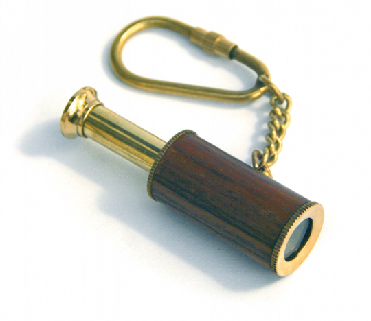 Schlüsselanhänger »Teleskop«.