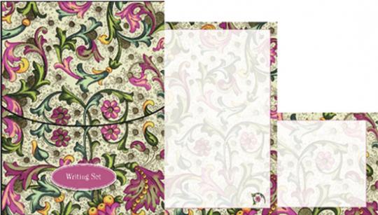 Schreibset »Floral Patterns«.