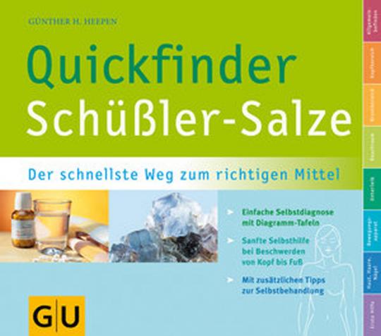 Schüßler Salze Quickfinder- mit Schnellsuchregister