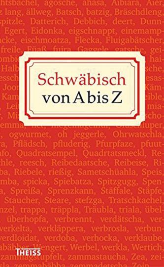 Schwäbisch von A bis Z.