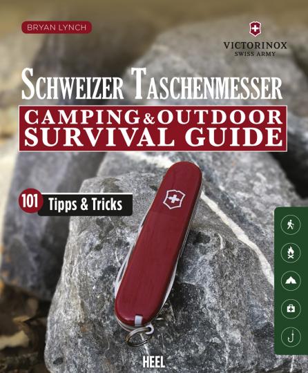 Schweizer Taschenmesser. Camping & Outdoor Survival Guide.