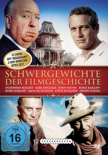 Schwergewichte der Filmgeschichte 12 DVDs