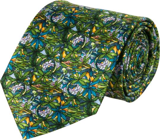Seidenkrawatte Louis C. Tiffany «Blütenranken«.
