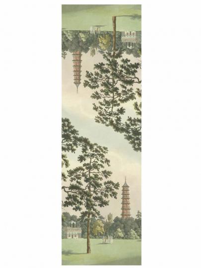 Seidenschal Franz Joseph Manskirsch »Kew Gardens«.