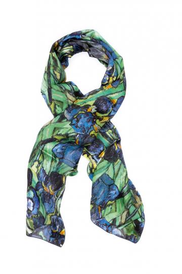 Seidenschal Vincent van Gogh »Iris«.