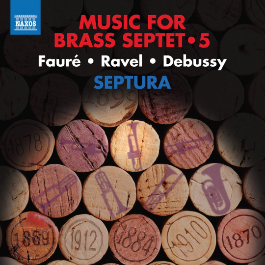 Septura. Music For Brass Septet Vol. 5. CD.