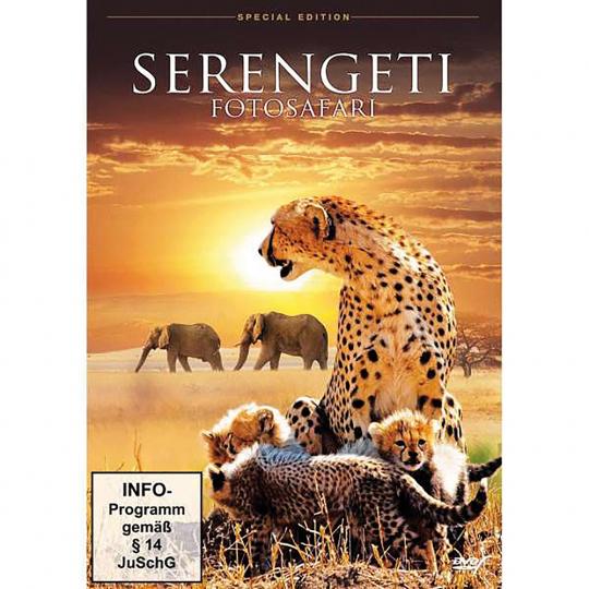 Serengeti - Fotosafari DVD