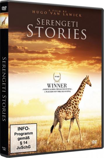 Serengeti Stories DVD