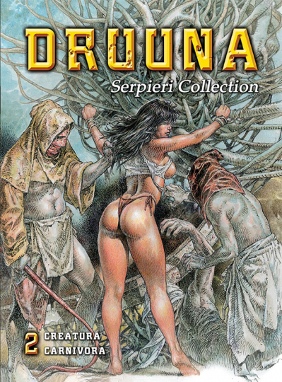 Serpieri Collection 2. Druuna Graphic Novel.