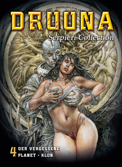 Serpieri Collection 4. Druuna Graphic Novel.