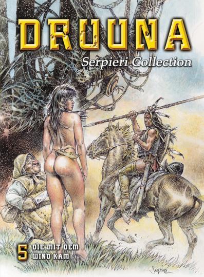 Serpieri Collection 5. Druuna Graphic Novel.