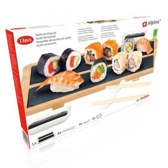 Servierset Sushi. 13-teilig.