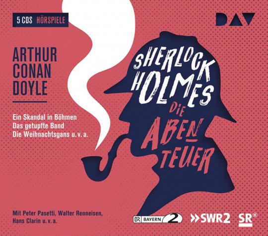 Sherlock Holmes 2 - Die Abenteuer. 5 CDs.