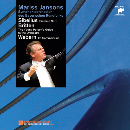 Sibelius, Britten & Webern. CD.